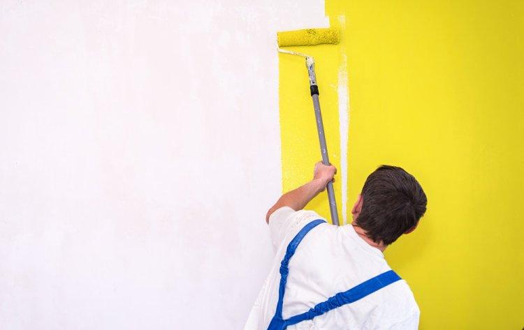 покрасить красиво стену