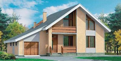 дачный жилой дом