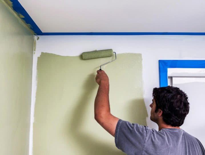 Подготовка и покраска стен своими руками