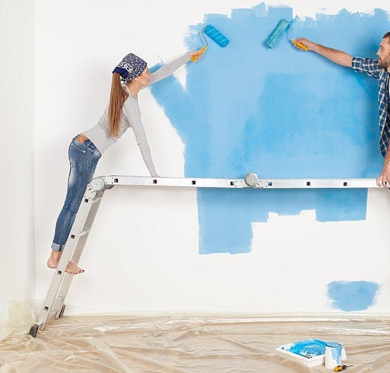 красивая покраска квартиры своими руками