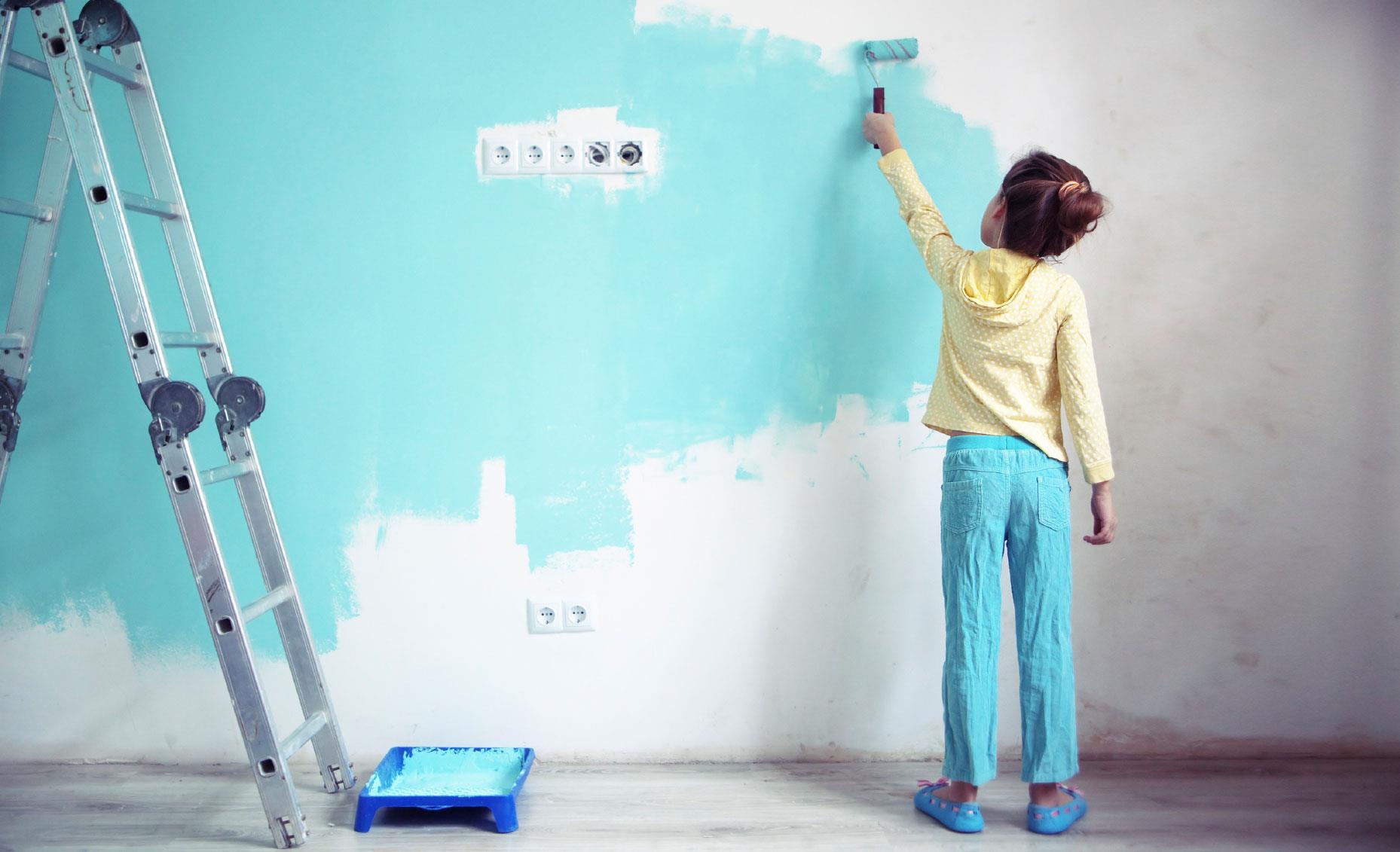 Подготовка под покраску стен